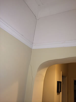 Small Crack in wall