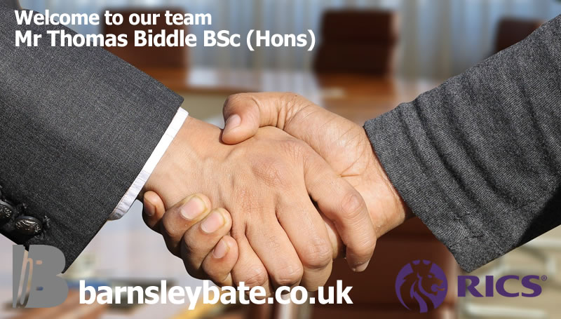 Welcome Mr Thomas Biddle BSc (Hons)